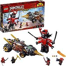 LEGO Ninjago - Perforadora de Cole, samurai gigante de juguete divertido de construcción para aventuras de ninjas (70669)