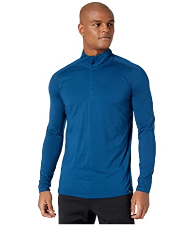 Smartwool Merino Sport 150 1/4 Zip (Alpine Blue) Men