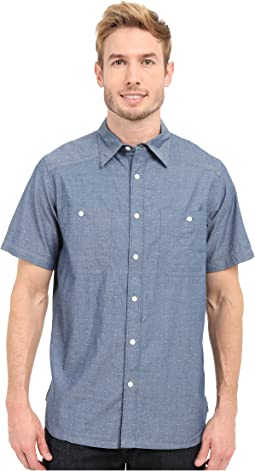 Ace Indigo Short Sleeve Shirt