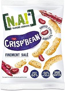 N.A! Nature Addicts - Crisp'Bean Finement Salé - Soufflés de Haricots, Légers et Délicats - 50% de Matières Grasses en Moi...