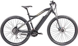 F.lli Schiano E- Mercury Bicicleta, Adulto Unisex, Negra, 29