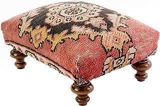 Food Stool - Turkish Rug Ottoman