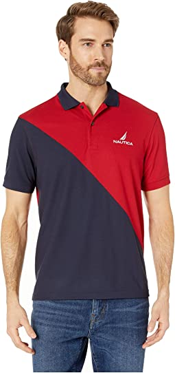 Navtech Diagonal Pieced Polo