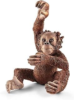 Schleich Young Orangutan Toy Figure