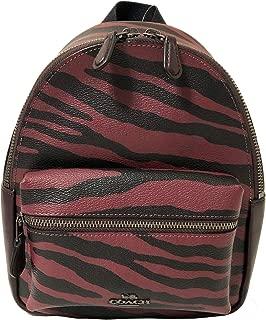 Coach Women's Pebbled Leather Mini Charlie Backpack