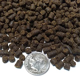 "Aquatic Foods Inc. Rangen 3/16"" Salmon Pellets, Soft Moist Sinking Pellets for Axolotls, Shrimp & All Fish"