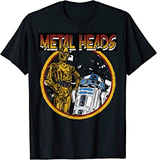 Metal Head Droids T-Shirt