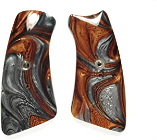 LS-Grips Copper & Silver Pearl Ruger Gp100 Grip Inserts