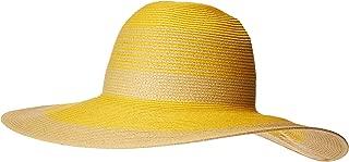 Calvin Klein Womens A9OH5363 Colorblock Stripe Sunhat Sun Hat