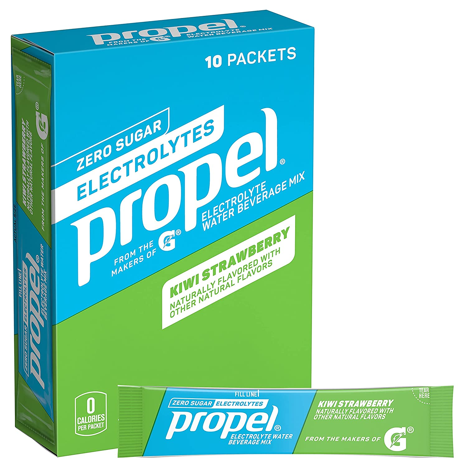 Propel Powder Packets Kiwi Strawberry sale with store Vitamin Electrolytes