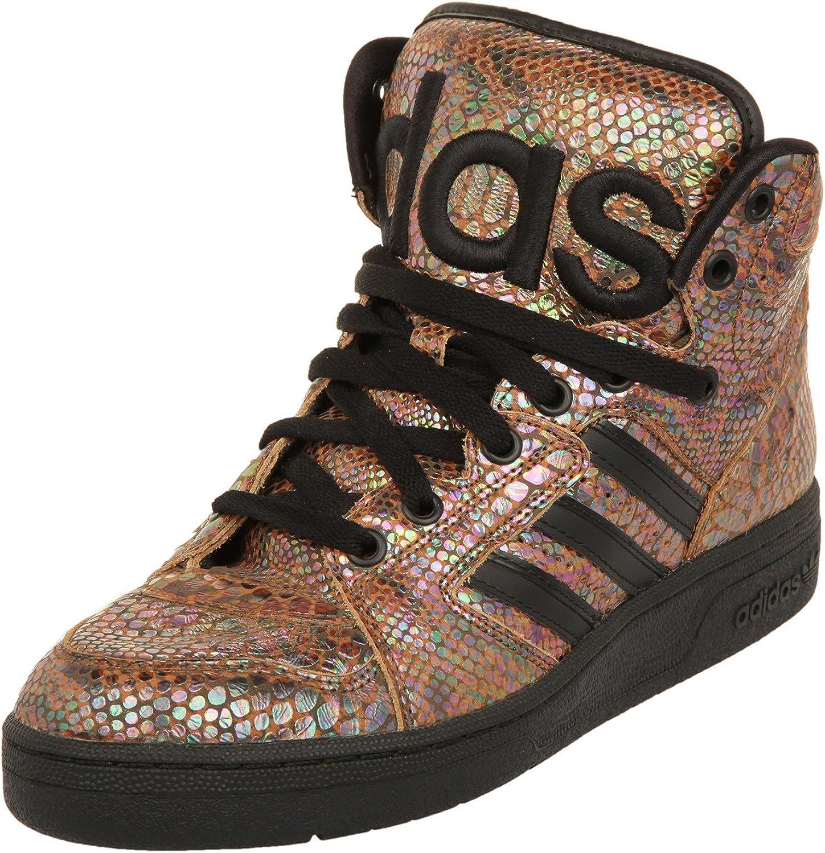 Adidas original av av av Jeremy Scott JS instinkt HI regnbåge herr hi topptränare G95753 gympaskor  de senaste modellerna