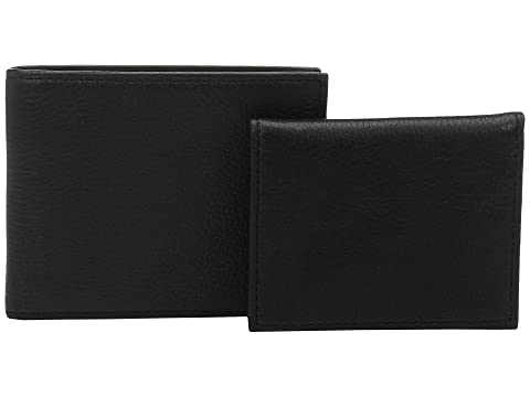 Negro Lauren Leather Pebble Polo Ralph Passcase 7UqUB