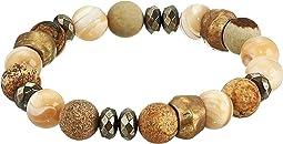 Natural Mix Stone Stretch Bracelet