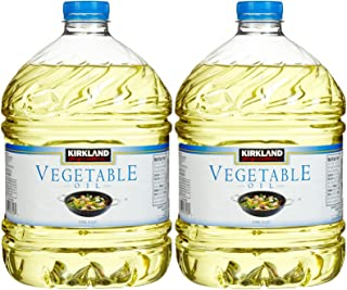 Kirkland Signature 100% Pure Vegetable Oil 3 qt.- 2 Count