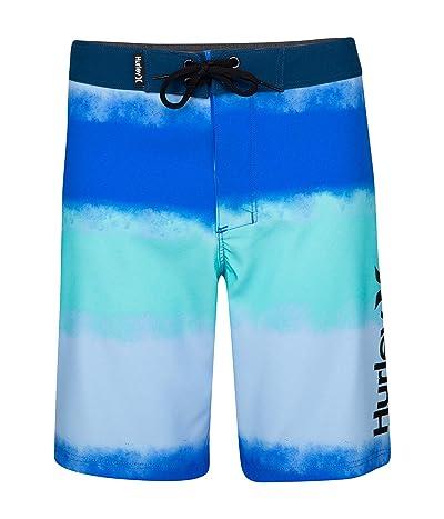 Hurley Kids Water Reveal Tie-Dye Phantom Boardshorts (Little Kids)