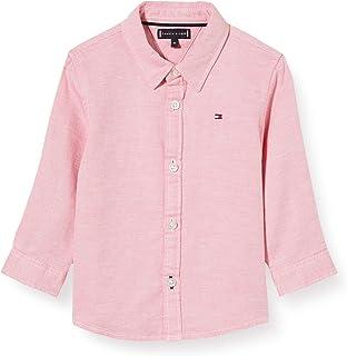 Tommy Hilfiger Structured Linen Shirt L/S Camisa para Niños