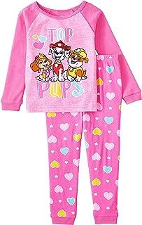 Nickelodeon Paw Patrol Top Pups Toddler Girls 2 Piece Sleepwear Pajama Set