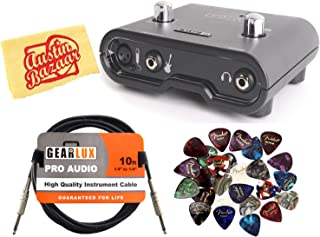 Line 6 POD Studio UX1 Audio Interface Bundle with Instrument Cable, 24 Picks, and Austin Bazaar Polishing Cloth