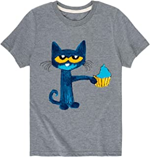 Pete The Cat Messy Cupcake - Toddler Short Sleeve Tee