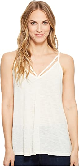 1582 Rayon Jersey Sleeveless Kint Strappy Tank Top
