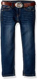 Girls' Belted Jean