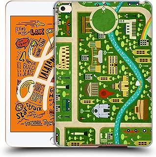 Head Case Designs Summer in Rome City Maps Hard Back Case Compatible for iPad Mini (2019)
