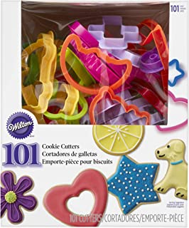 Wilton 101 Piece Cookie Cutter Set, 2304-1040, Child-Safe Plastic, Dishwasher-Safe