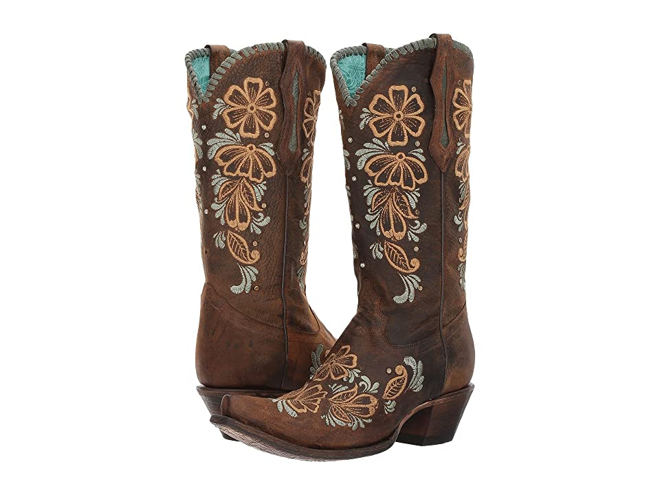 Corral Boots R1434 (Brown) Cowboy Boots