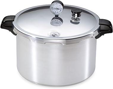 Presto 01755 16-Quart Aluminum canner Pressure Cooker, One Size, Silver