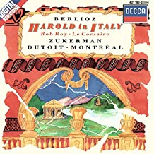 Berlioz: Harold en Italie Harold in Italy Op. 16; Rob Roy Overture; Le Corsaire The Corsair Overture, Op. 21