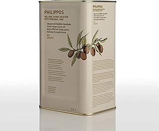 PHILIPPOS フィリッポス オーガニック エクストラバージン オリーブオイル 3L