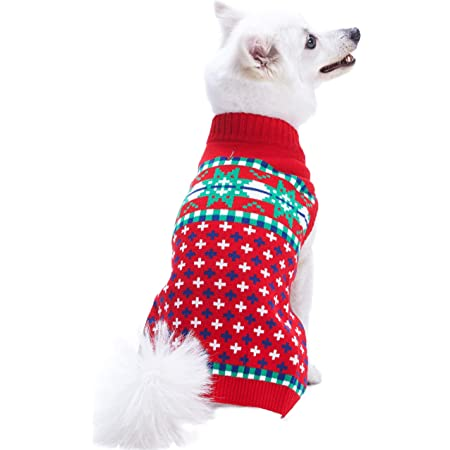 Blueberry Pet 15 Patterns Christmas Clothes Christmas Family Interlock Sweaters for Dogs Children and Parents Lovely Sweatshirts for Dogs