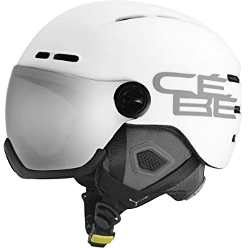C/éb/é Contest Vision Casco de Ski Matt White Adultos Unisex 59-61 cm