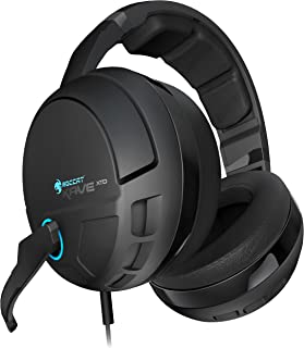 ROCCAT KAVE XTD 5.1 Digital – Premium 5.1 Surround Headset with USB Remote & Sound Card