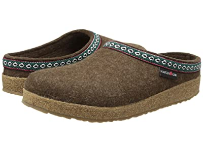 Haflinger GZ Classic Grizzly (Chocolate) Clog Shoes