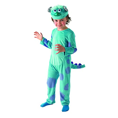 5656418afacc Rubie s Official Child s Masquerade Sulley Deluxe Costume - Small