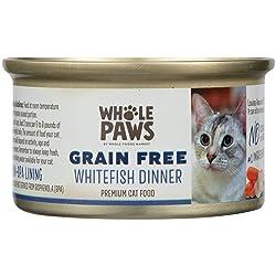 Whole Paws Grain Free Whitefish Dinner, 3 oz