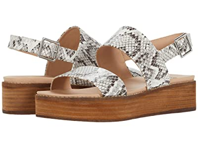 Steve Madden Teenie Wedge Sandal (Bone Snake) Women