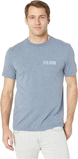 cfb38158 Filson 210G Merino Short Sleeve Crew at Zappos.com