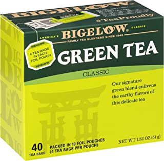 green tea fat burner by Bigelow Tea