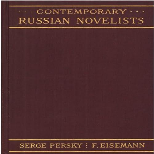 Contemporary Russian Novelists