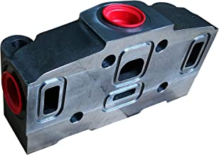 Buzile VG35-A880 Inlet Cover, SAE 16 Porting, Replacement Part: Parker DVA35-A880 (348-9175-005)