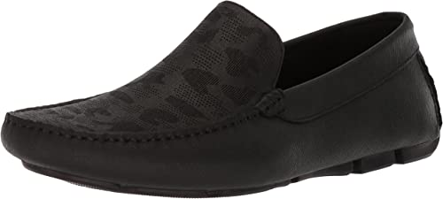 Kenneth Cole New York Men's Theme Song Driving Style Loafer, negro, 9.5 M US
