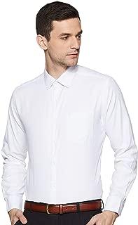 Diverse Men's Solid Regular Fit Cotton Formal Shirt