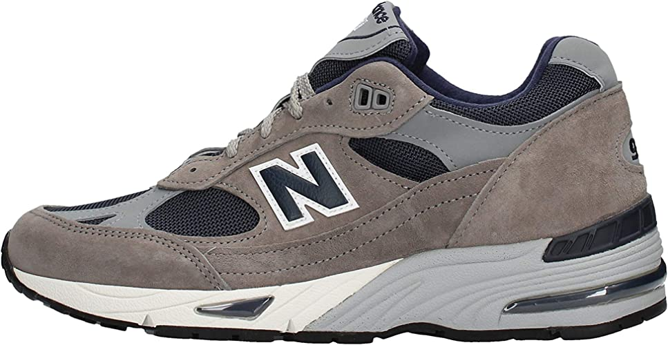 New Balance M991ANG Grey/Navy Sneaker Uomo Running Retro' Grey ...