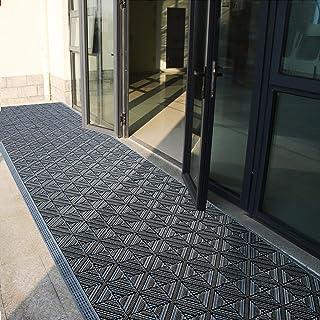 Fall Winter Outdoor Doormat Heavy Duty Waterproof, Large Entrance Door Mat for Hotel Nursery Kindergarten School, Absorben...