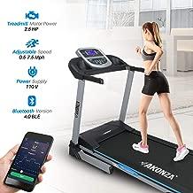AKONZA 2.5 Peak HP Foldable Exercise Treadmill Machine Running 16.5