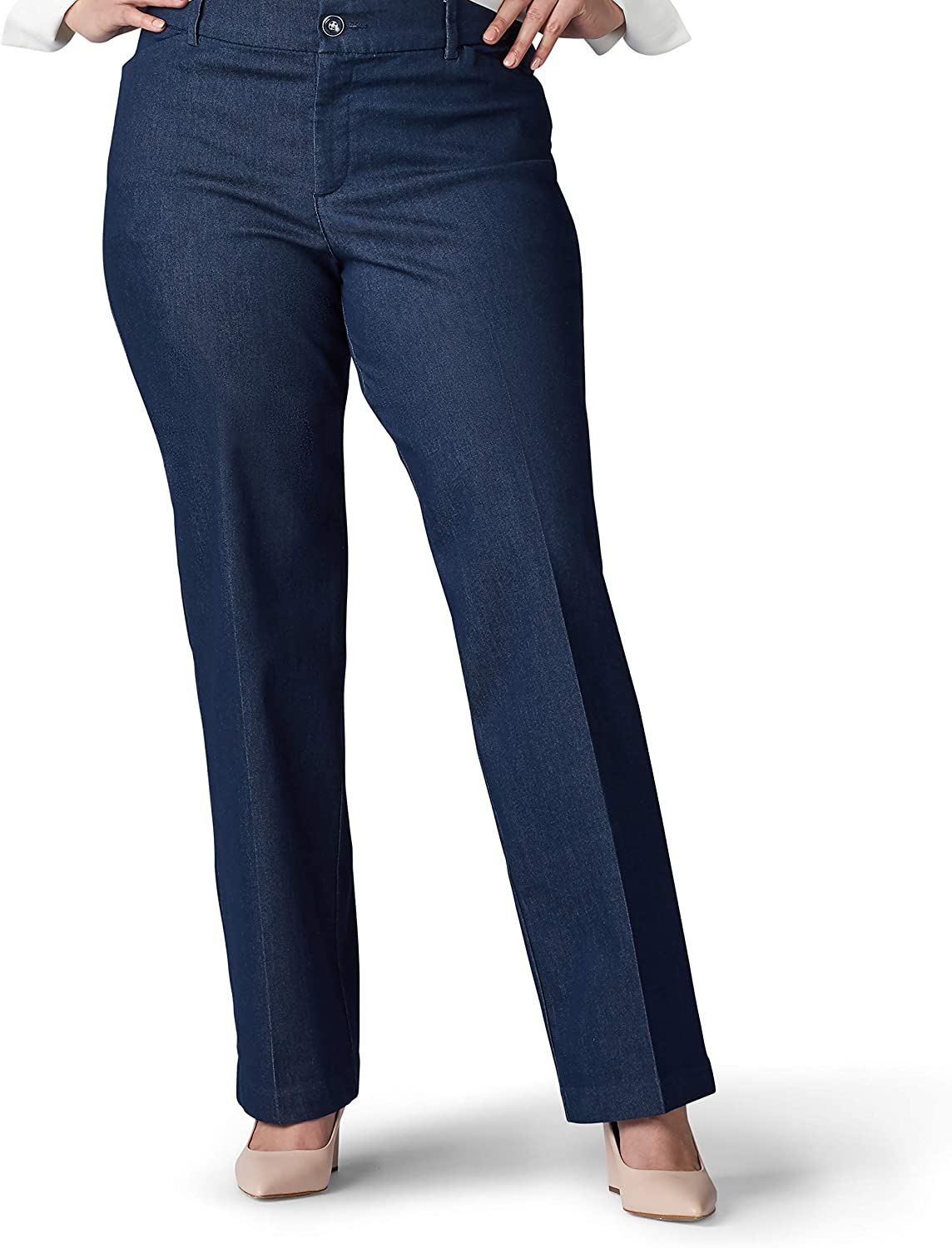 Lee Women's Plus Size At the price of surprise Flex Fit Motion Max 86% OFF Pant Trouser Regular