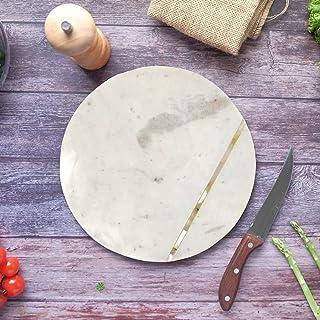 Hashcart Marble Cutting Board Organizer   Butcher Block Countertop   Chopping board for Home Decor   Kitchen Accessories  ...