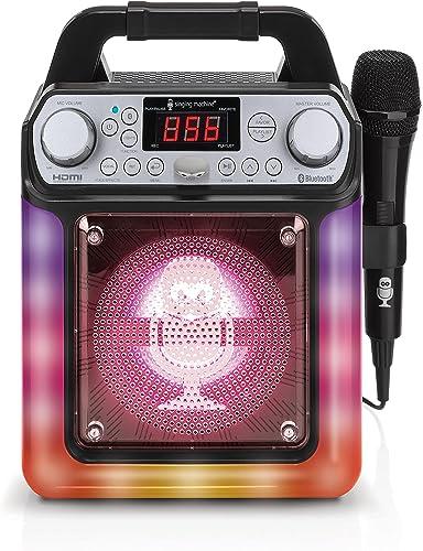 Singing Machine Karaoke System-Portable, Black (SML652BK)
